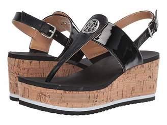 Tommy Hilfiger Gunther (Black Multi LL) Women's Shoes