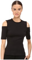 Yigal Azrouel Cold Shoulder Scuba Top
