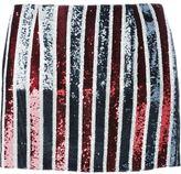 Giamba sequinned stripe skirt