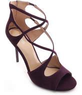 Michael Kors Women's Sandals DAMSON - Plum Chantelle Suede Sandal - Women