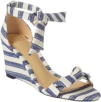 Alexandre Birman Clarita Striped 35 Wedge Sandal