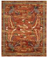 Nourison Barclay Butera Dynasty Imperial 7-Foot 9-Inch x 9-Foot 9-Inch Area Rug in Persimmon
