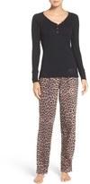 Betsey Johnson Women's Flannel Pajamas