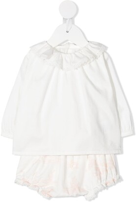 Chloé Kids Two-Piece Long-Sleeve Set