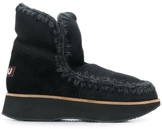 Mou Running Eskimo ankle boots
