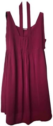 Miu Miu Pink Silk Dresses