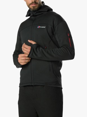 Berghaus Pravitale Mountain 2.0 Men's Hooded Jacket, Carbon/Black