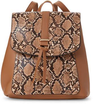 Imoshion Snake-Embossed Flap Backpack