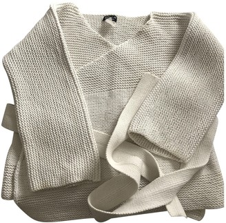 Sonia Rykiel Sonia By Ecru Wool Knitwear for Women