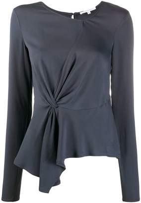 Patrizia Pepe knot detail blouse
