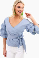 ENGLISH FACTORY Annabelle Ruffle Top