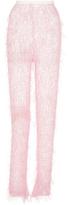 Rodarte Knit Pink Eyelash Pant