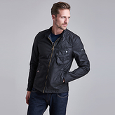 Barbour International Legion Bonner Wax Jacket, Black