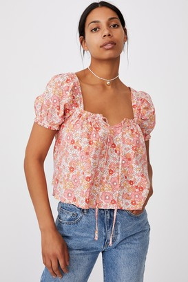 Cotton On Babydoll Blouse