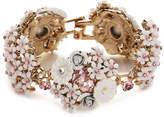 Betsey Johnson Women's Floral Duster Bracelet