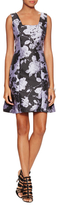 Max & Co. Floral Squareneck Flared Dress