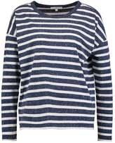 Lee LS STRIPE TEE Long sleeved top medieval blue