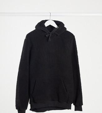 Brave Soul tall borg hoodie