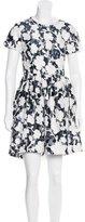 Kate Spade Jacqaurd Mini Dress