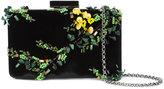 Oscar de la Renta Rogan floral sequin box clutch