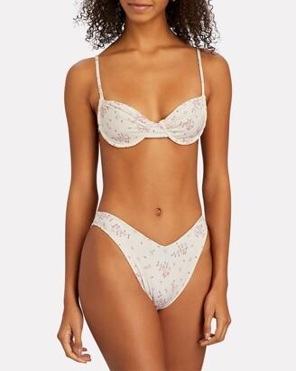 Frankie's Bikinis Maggie Floral Bikini Top
