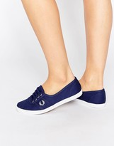 Fred Perry Aubrey Twill Navy Sneakers