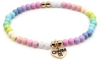 CHARM IT! Pastel Stretch Bead Bracelet