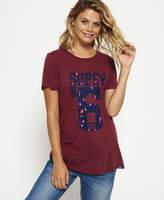 Superdry Super 6 Long Line T-shirt