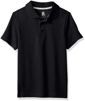 Starter Boys' Short Sleeve Tech Golf Polo Shirt Amazon Exclusive