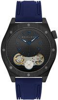 Sean John Men's Roxburry Blue Silicone Strap Watch 46mm