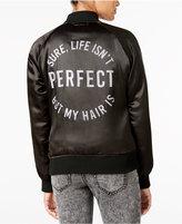 DreamWorks Trolls Juniors' Perfect Hair Graphic Bomber Jacket
