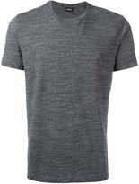 Diesel plain T-shirt - men - Cotton/Polyester - S