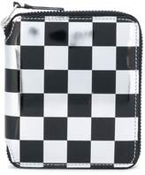 Comme des Garcons checkered wallet