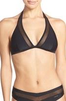 Ted Baker Mesh Detail Halter Bikini Top