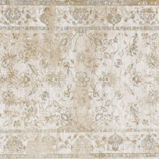 """Loloi Inc. Microfiber Polyester Torrance Rug by Loloi, Ivory and Ivory, 2'7""""x4'"""
