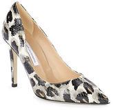 Diane von Furstenberg Snow Leopard Stiletto Heel