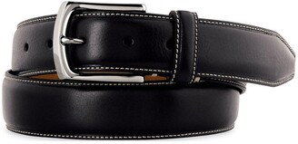 Johnston & Murphy Calfskin Leather Belt