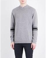 Cheap Monday Wannabe Stripe-detail Knitted Jumper