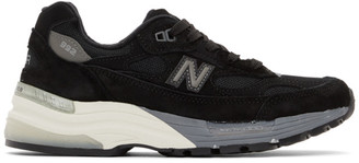 New Balance Black Made In US 992 Sneakers