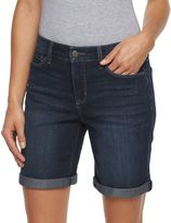 Croft & Barrow Women's Rolled Jean Shorts