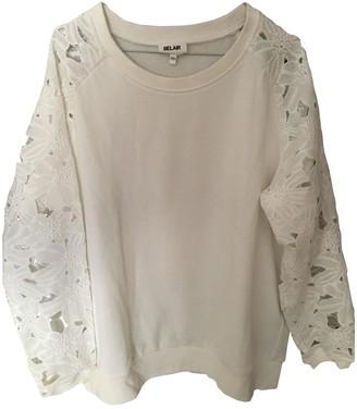 Bel Air Ecru Cotton Knitwear for Women