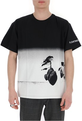 Valentino Two-Tone Printed T-Shirt