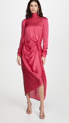Zimmermann Drape Long Sleeve Dress