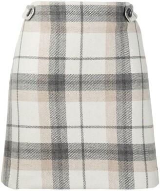 Tommy Hilfiger Check Mini Skirt