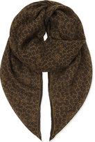 Givenchy Star Cashmere-silk Scarf