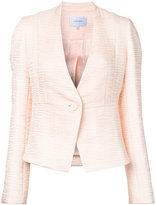 Carven textured fitted jacket - women - Polyester - 38