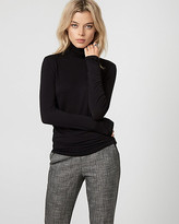 Le Château Viscose Blend Turtleneck Top