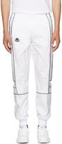 Kappa SSENSE Exclusive White Windbreaker Track Pants