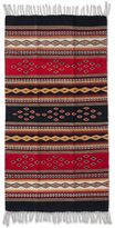 Novica Handcrafted Zapotec Wool 'Highland Dawn' Runner Rug 5x2.6 (Mexico)
