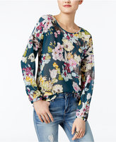 GUESS Remy Floral-Print Blouse
